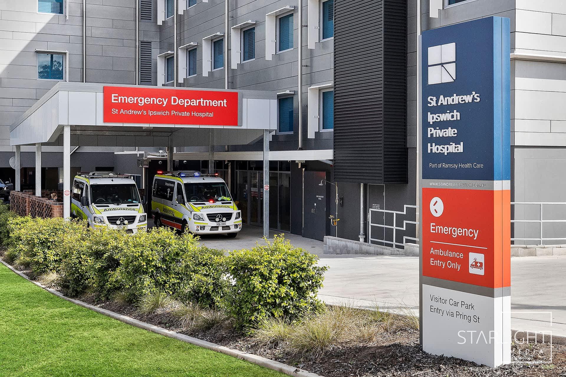 Photography Ramsay Health Care St Andrew's Hospital Ipswich